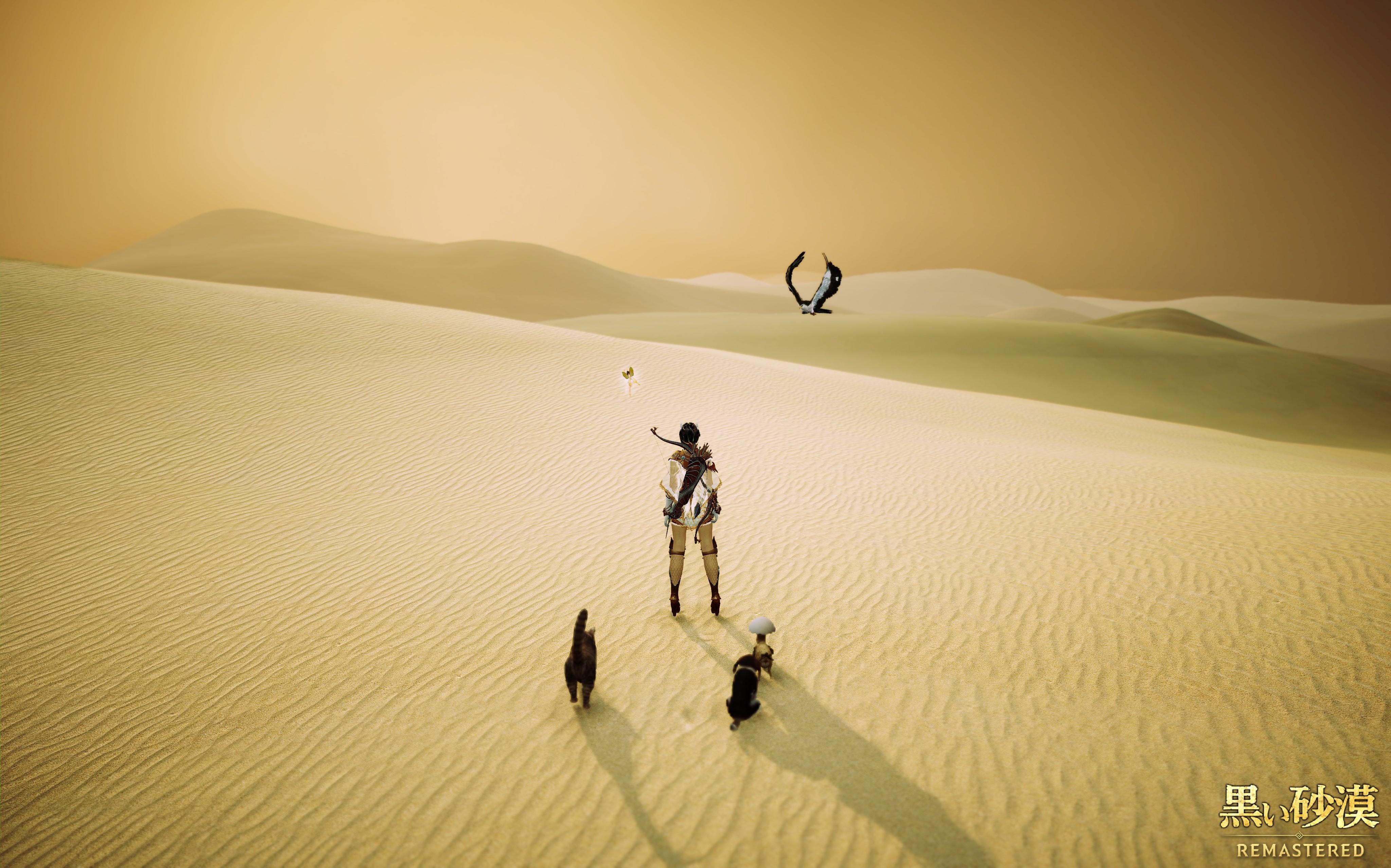 放浪中【黒い砂漠】